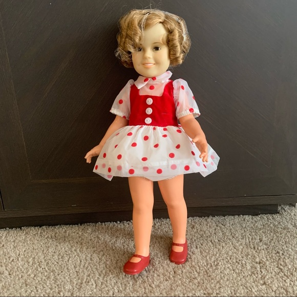 Vintage 1972 Shirley Temple Ideal Standard Doll